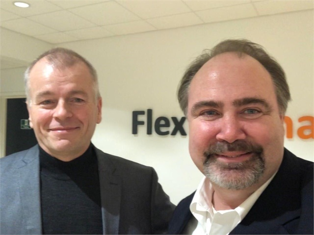 Photo of Per Bo Christensen, CEO of FlexDanmark and the author