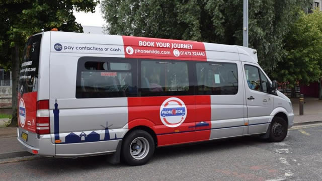 NE Lincs Phone n Ride Bus