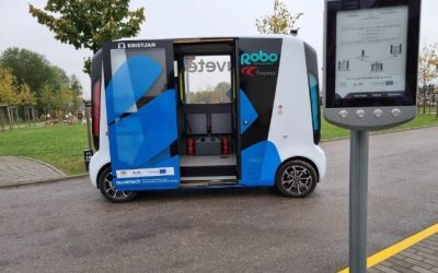 Trapeze Supports Autonomous Bus Project for the Vulnerable